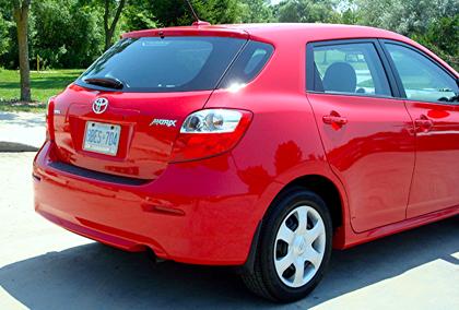 Test Drive 2010 Toyota Matrix