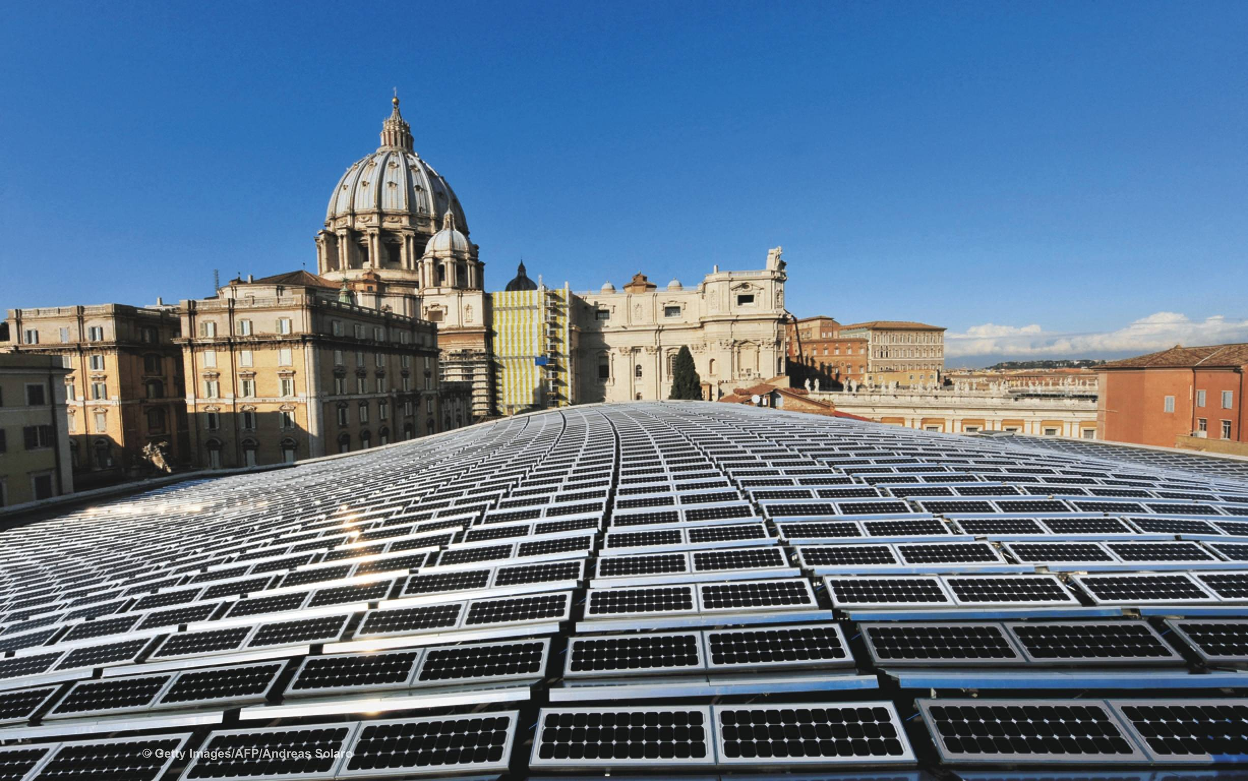 Solar Panels On The Vatican: New Pope Is Green!