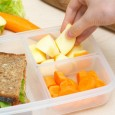 "It's been estimated that a school-aged child using a disposable lunch generates 67 lbs of [packaging] waste per school year (http://www.wastefreelunches.org).  All those ""single serving"" packaged foods really add up!  […]"