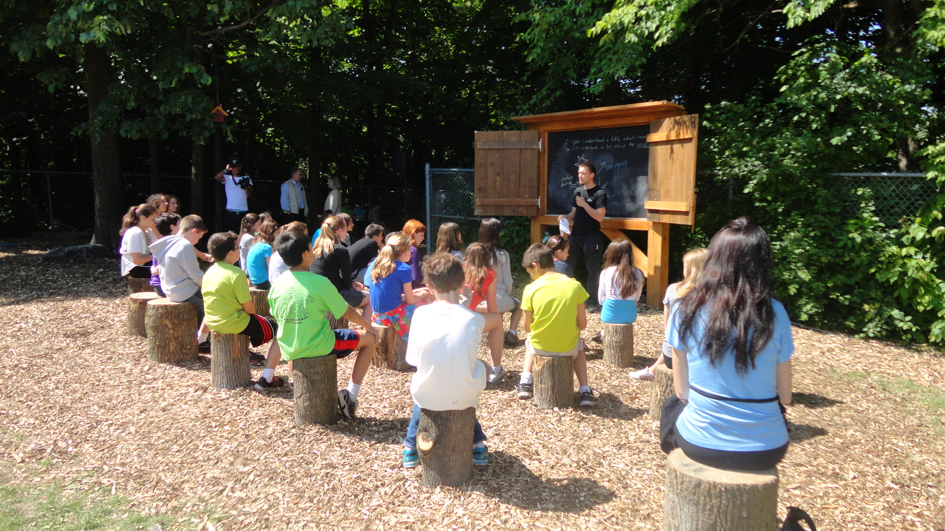 Outdoor Classroom Design ~ Contest designed to facilitate outdoor learning in schools