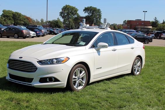 Ford Autonomous Prototype.  Photo: Eric Novak