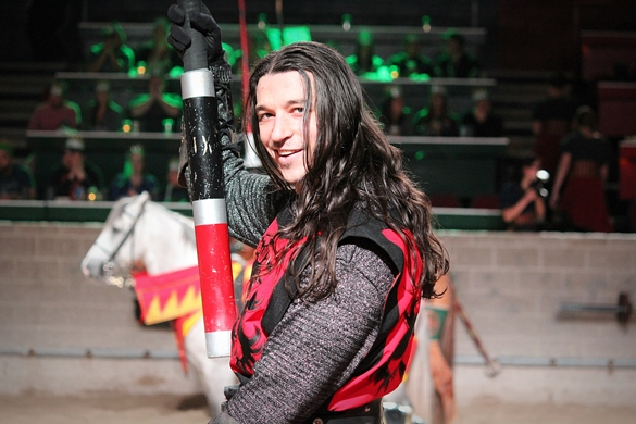 Medieval Times Red Knight Toronto - Feb 12, 2016r