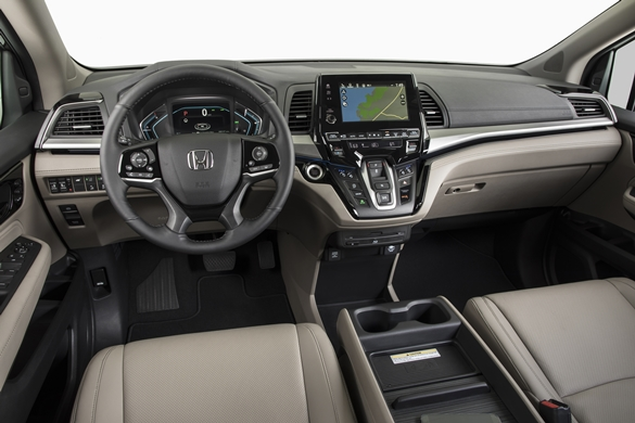 2018 Honda Odyssey - Photo: Honda Canada