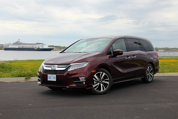2018 Honda Odyssey near Charlottetown Harbor  Photo: Eric Novak