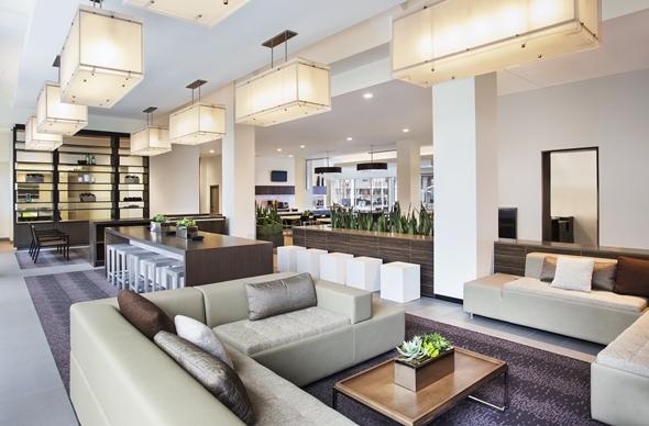 Element Hotel Lobby - Boston, MA
